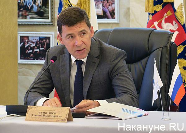 Заседание президиума совета СОСПП, Куйвашев(2018) Фото: Накануне.RU