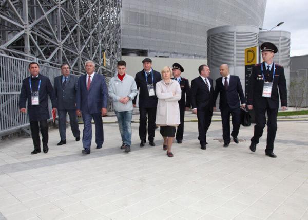 Владимир Колокольцев, МВД, Екатеринбург, Екатеринбург-арена(2018) Фото: В.Н. Горелых
