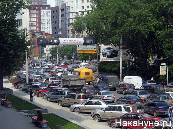 екатеринбург пробка|Фото: Накануне.ru