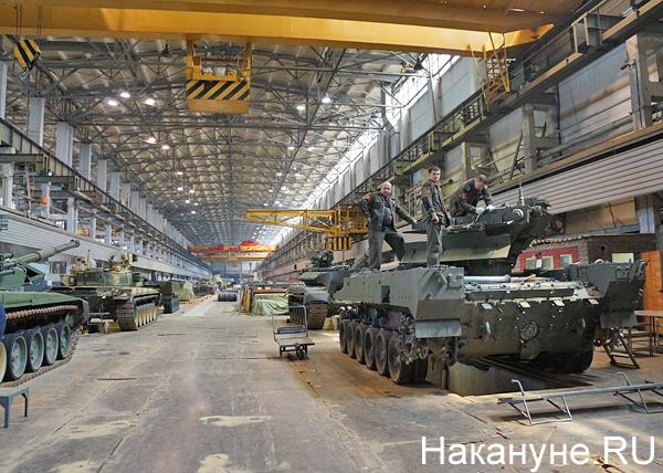 Уралвагонзавод, танк(2018)|Фото: Накануне.RU