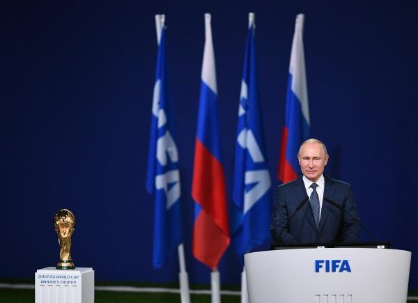 Владимир Путин, конгресс ФИФА(2018) Фото: пресс-служба президента России