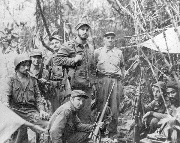 Кубинская революция, Че Гевара, Рауль Кастро, Фидель Кастро, Че без бороды(2018) Фото: en.granma.cu