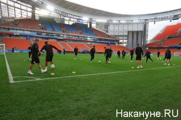 сборная Уругвая, тренировка, Екатеринбург Арена(2018) Фото: Накануне.RU