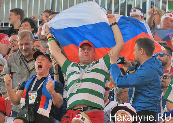 болельщик, футбол, ЧМ-2018, флаг России(2018)|Фото: Накануне.RU