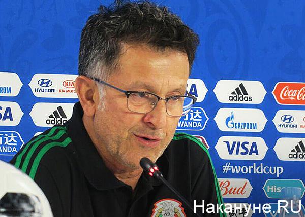 Тренер Хуан Карлос Осорио(2018) Фото: Накануне.RU