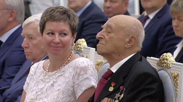 Владимир Этуш, вручение госнаград(2018) Фото: пресс-служба президента России