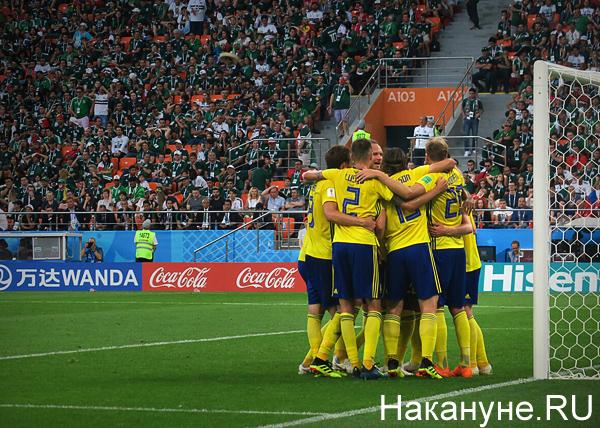 ЧМ-2018, Швеция-Мексика, гол(2018)|Фото: Накануне.RU
