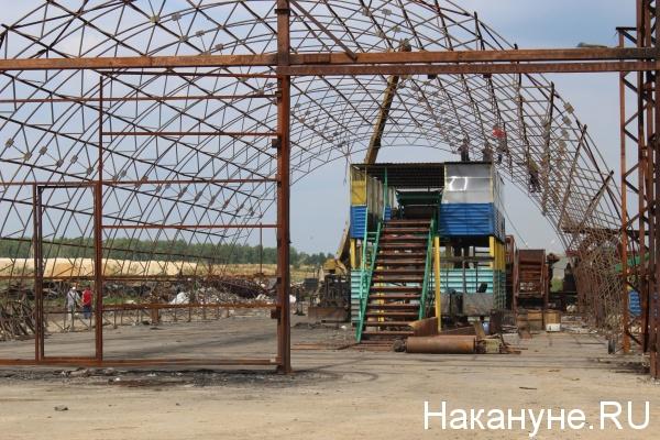 полигон ТБО в Полетаево, мусоросортировочный комплекс,(2018)|Фото: Накануне.RU