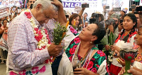 президент Мексики Обрадор(2018)|Фото: debate.com.mx