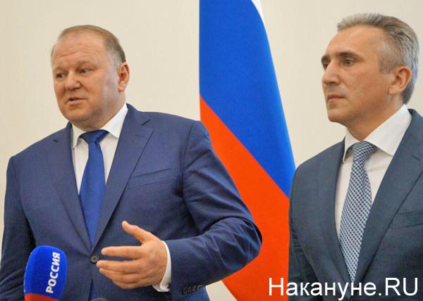 Николай Цуканов, Александр Моор(2018)|Фото: Накануне.RU