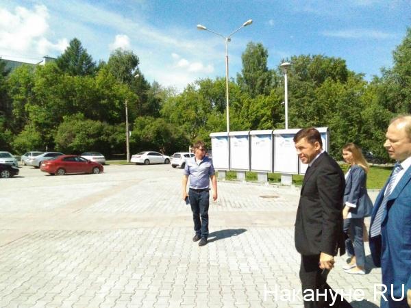 """конференция """"Единой России"""", Куйвашев, Шептий(2018) Фото: Накануне.RU"""