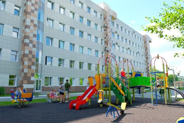 КДКБ детская площадка(2018) Фото: Пресс-служба правительства и губернатора Прикамья
