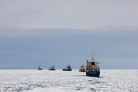 Северный морской путь, Сабетта, танкеры, Ямал-СПГ(2018)|Фото: Правительство ЯНАО