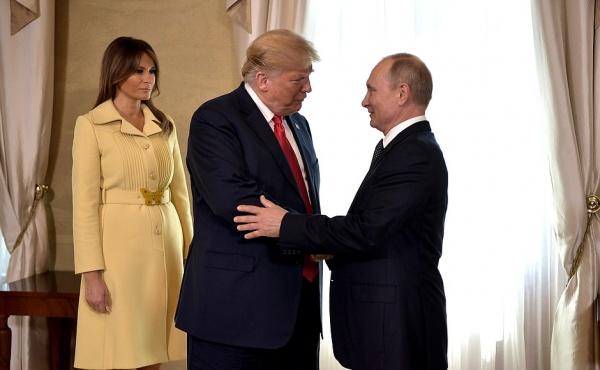 Владимир Путин и Дональд Трамп на встрече в Хельсинки(2018)|Фото: http://kremlin.ru