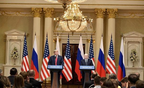 прес-конференция президентов РФ и США в Хельсинки 16.07.2018(2018)|Фото: http://kremlin.ru