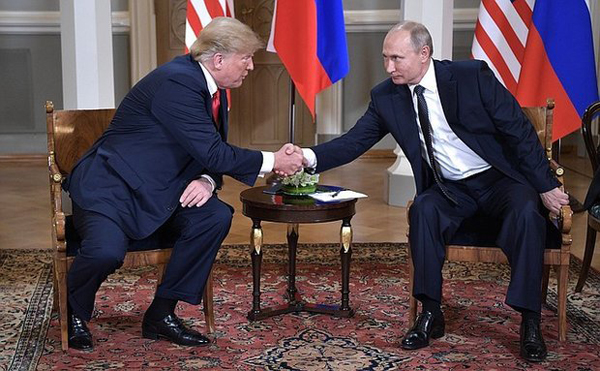 на встрече в Хельсинки(2018)|Фото: kremlin.ru