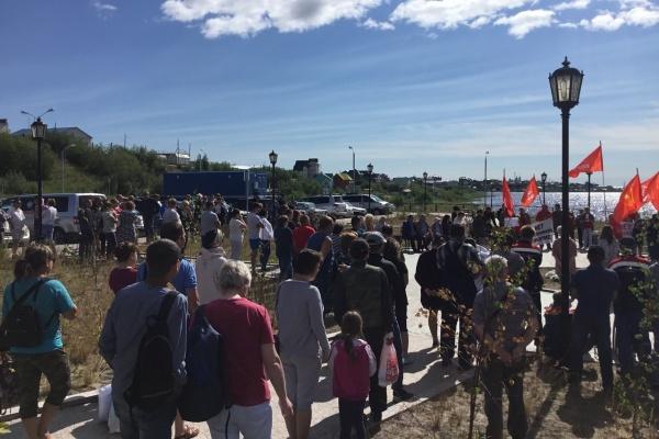 митинг в Салехарде(2018)|Фото: kprf-yamal.ru/
