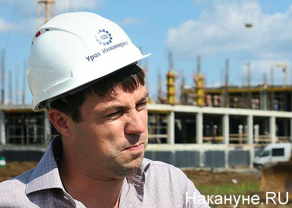 Виталий Ветров, строительство школы в Нижнем Тагиле(2018) Фото: Накануне.RU
