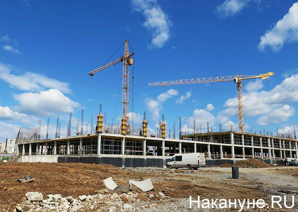 строительство школы в Нижнем Тагиле(2018) Фото: Накануне.RU