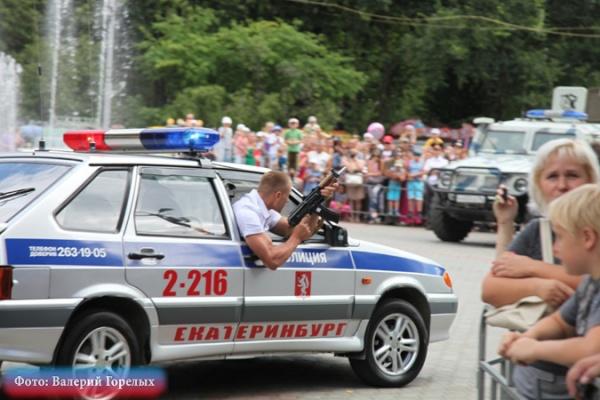 полиция, МВД, автомат, стрельба(2018)|Фото: В.Н. Горелых