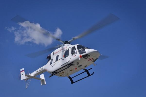 вертолет санавиации, (2018) | Фото: пресс-служба губернатора Челябинской области