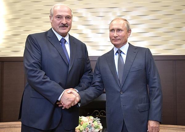 Александр Лукашенко, Владимир Путин(2018)|Фото: kremlin.ru