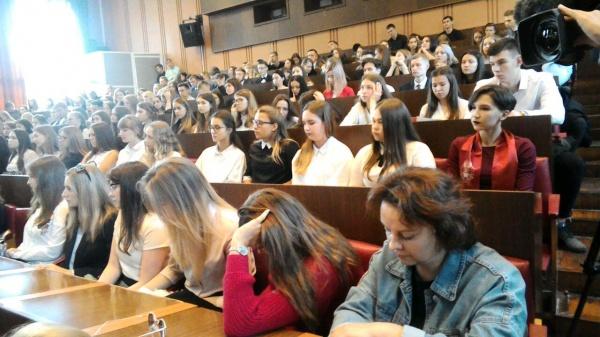 студенты аудитория вуз РАНХиГС(2018)|Фото:Накануне.RU