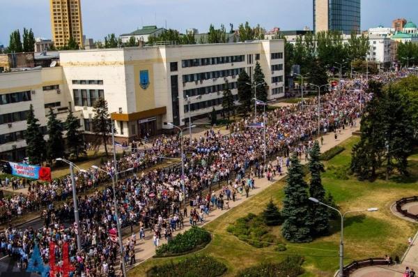 ДНР, Донецк, похороны Александра Захарченко(2018)|Фото: dan-news.info