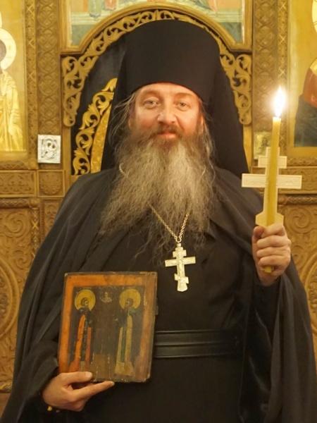 Иеромонах Зосима (Оболдин)(2018) Фото: Соликамская епархия РПЦ