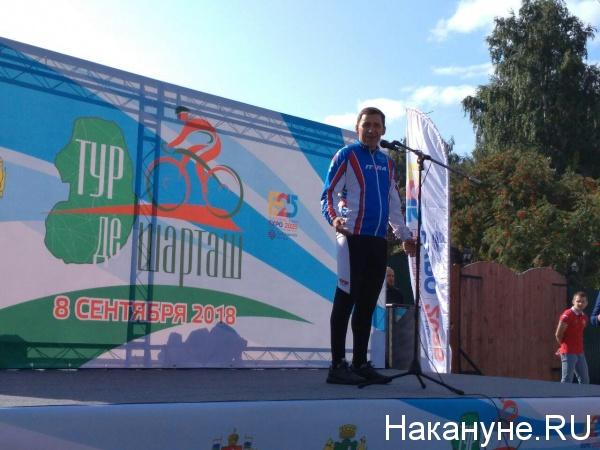 Евгений Куйвашев, тур де шарташ(2018)|Фото: Накануне.RU