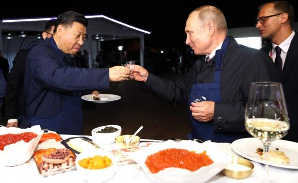 Владимир Путин, Си Цзиньпин(2018)|Фото:kremlin.ru