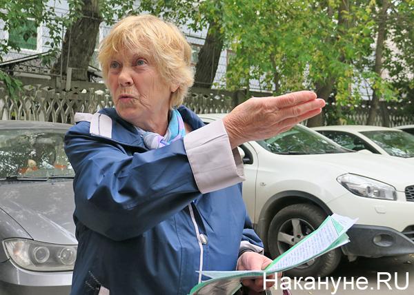 жительница дома на ул. Карла Либкнехта, 40(2018)|Фото: Накануне.RU