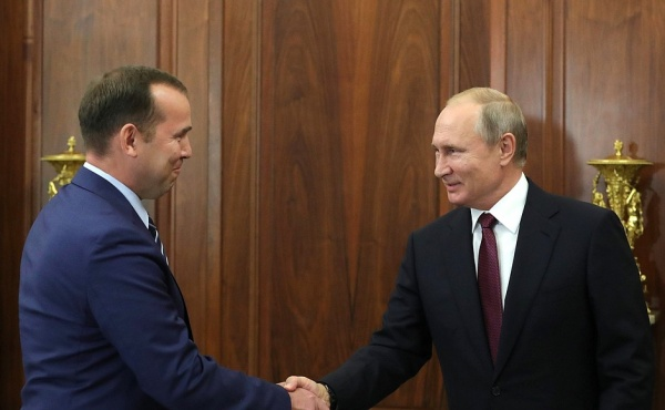 Владимир Путин, Вадим Шумков(2018) Фото: kremlin.ru