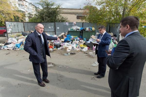 мусор, Челябинск, Борис Дубровский,(2018)|Фото: пресс-служба губернатора Челябинской области