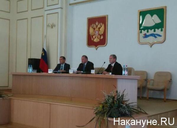 Вадим Шумков, Николай Цуканов, Алексей Кокорин(2018) Фото: Накануне.RU