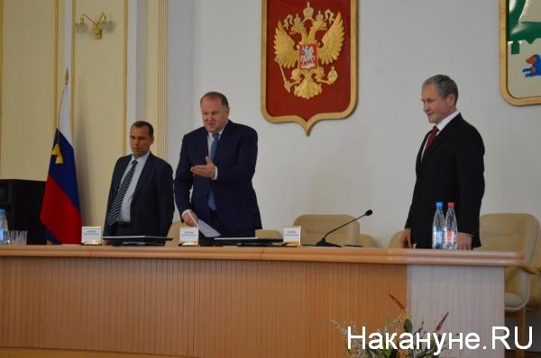 Вадим Шумков, Николай Цуканов, Алексей Кокорин(2018) Фото:Накануне.RU