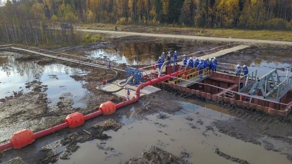 Транснефть – Сибирь, ликвидация утечки нефти, тренировка(2018)|Фото: Транснефть-Сибирь
