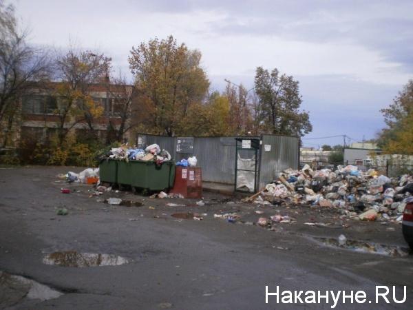 мусор, Челябинск, контейнер, отходы(2018)|Фото:Накануне.RU