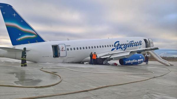 аэропорт Якутска, самолет, авария(2018)|Фото: Восточно-Сибирское следственное управление на транспорте СК РФ