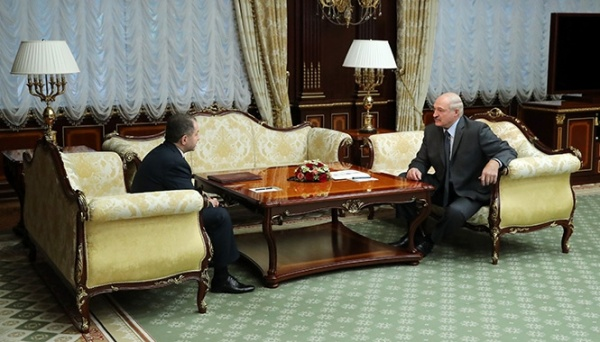 Встреча Лукашенко с послом РФ в Беларуси Бабичем(2018)|Фото: Пресс-служба президента Республики Беларусь