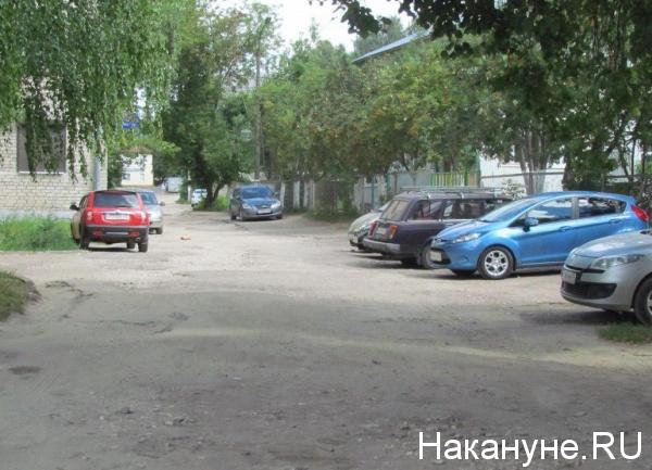 автомобили, парковка(2018)|Фото: Накануне.RU