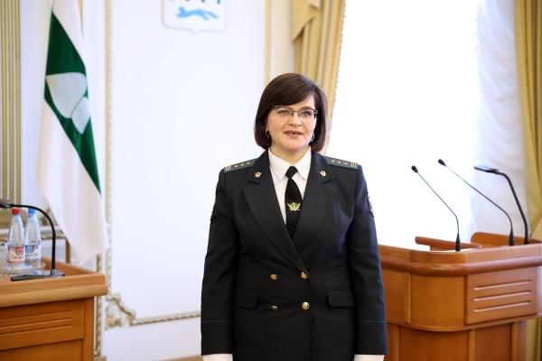 Ирина Уварова, УФССП(2018) Фото:kurganobl.ru