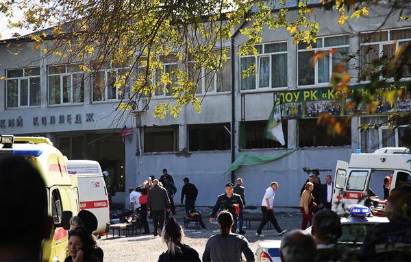 теракт в колледже Керчи(2018)|Фото: ТАСС, Екатерина Кейзо