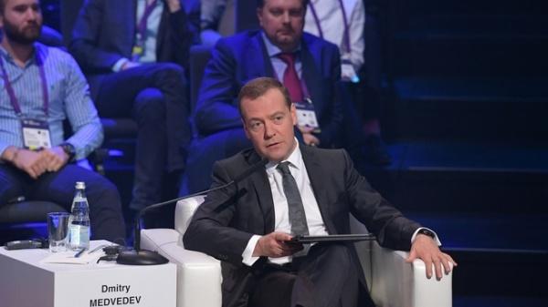 Дмитрий Медведев, Открыте Инновации(2018)|Фото: government.ru, Пресс-служба Правительства РФ