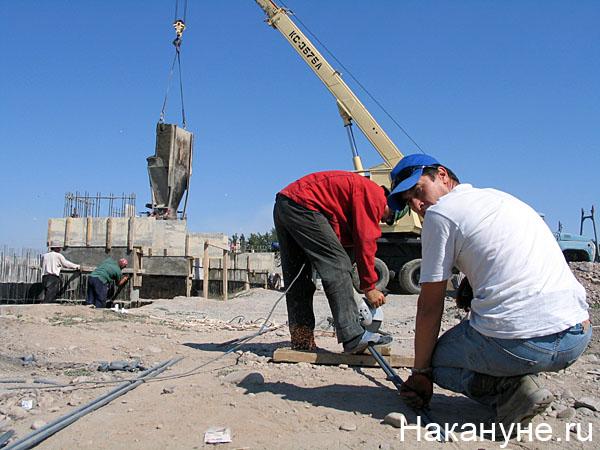 мигрант гастарбайтер нелегал таджики строительство(2007) Фото: Накануне.ru