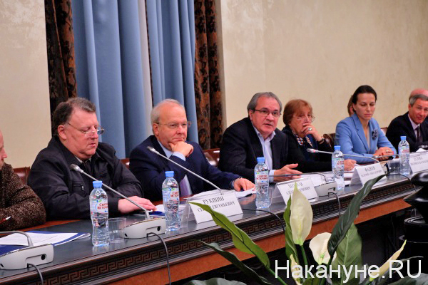 Сергей Рукшин, Алексей Хохлов, Валерий Фадеев(2018)|Фото: Накануне.RU