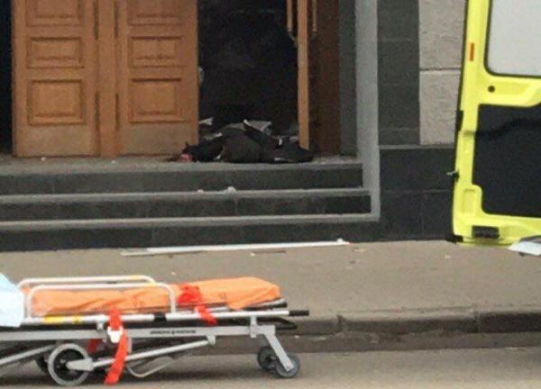 Взрыв у здания ФСБ в Архангельске(2018)|Фото: mash