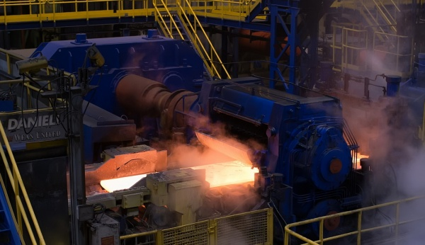 Выксунский металлургический завод, металл, прокат(2018)|Фото: пресс-служба ВМЗ