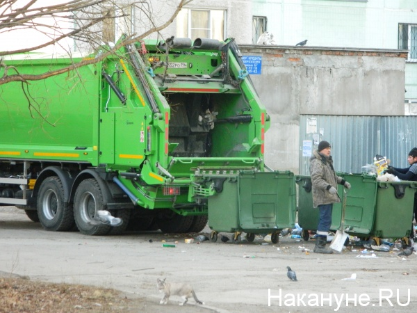 мусоровоз, мусор, помойка(2018) Фото: Накануне.RU