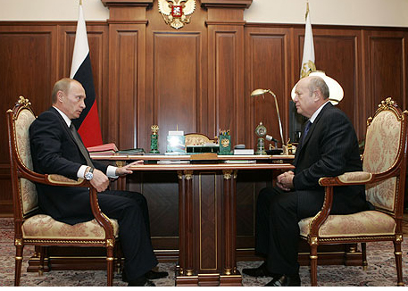 президент рф владимир путин и.о. председателя правительства михаил фрадков|Фото: kremlin.ru